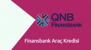 Finansbank Araç Kredisi