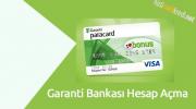 Garanti Bankası Hesap Açma