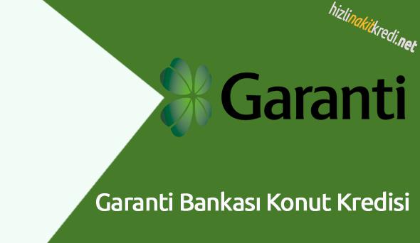 Garanti Bankası Konut Kredisi