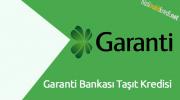 Garanti Bankası Taşıt Kredisi