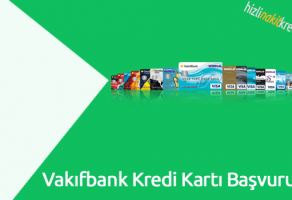 Vakıfbank Kredi Kartı Başvurusu
